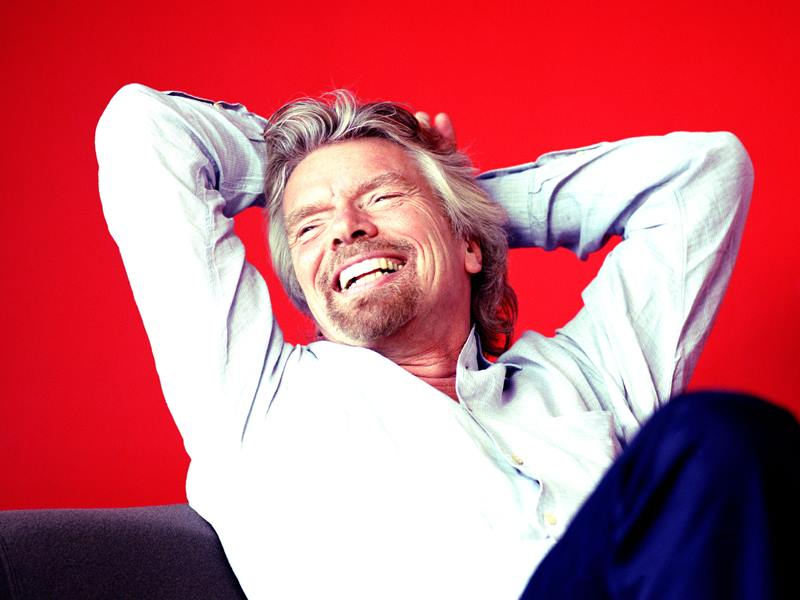 RICHARD BRANSON, MADONNA, DAVID PARRISH AND OTHER SUCCESSFUL FIGURES ON BUSINESS AND CREATIVITY