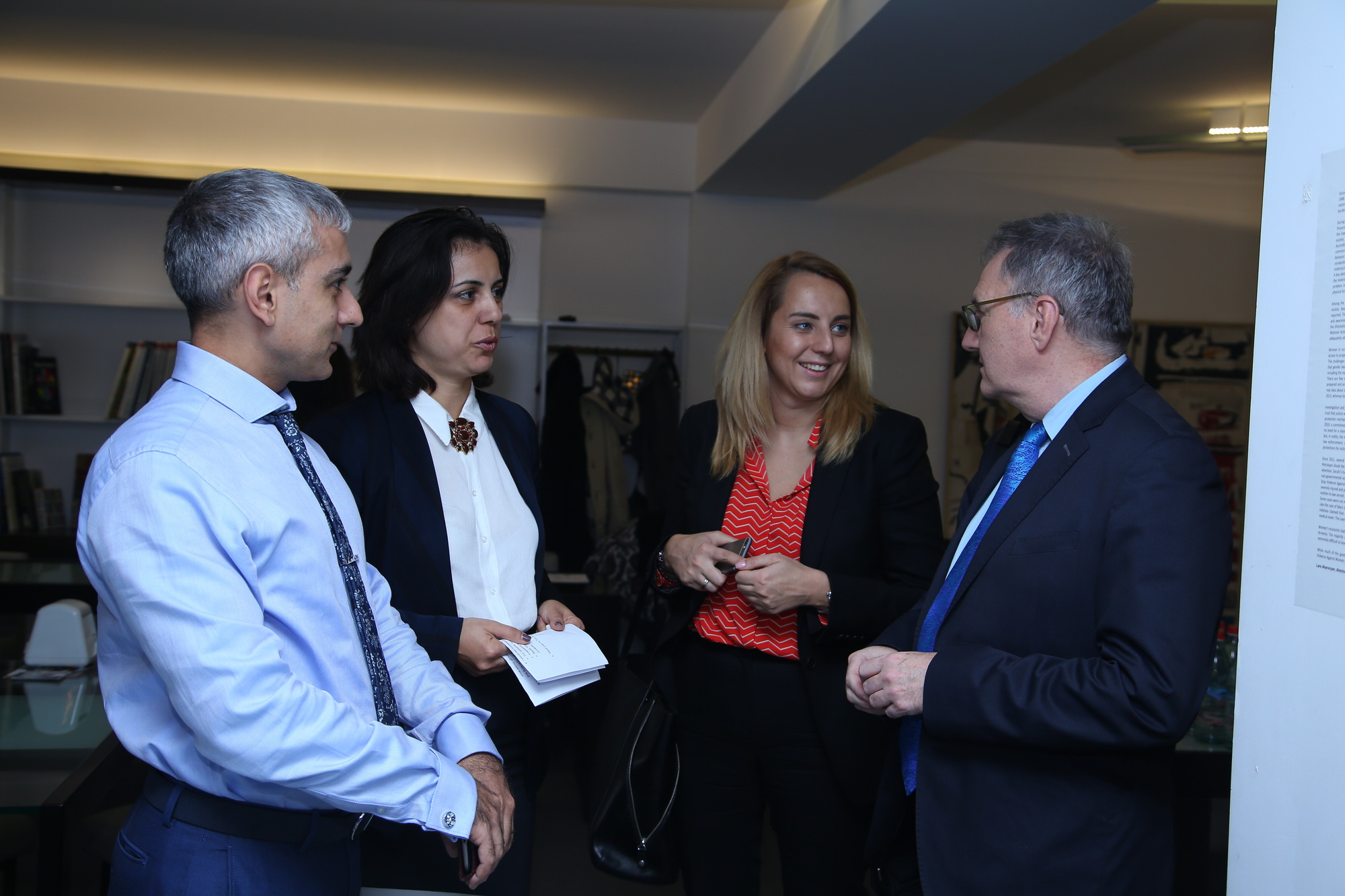 Meeting with representatives of EU embassies and donors Yerevan, 3 December 2015