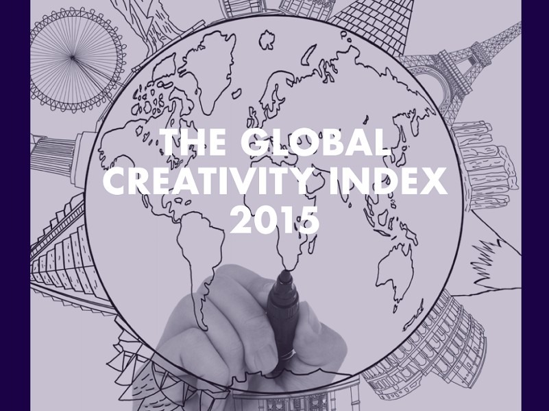 TOP-25 COUNTRIES ON THE GLOBAL CREATIVITY INDEX