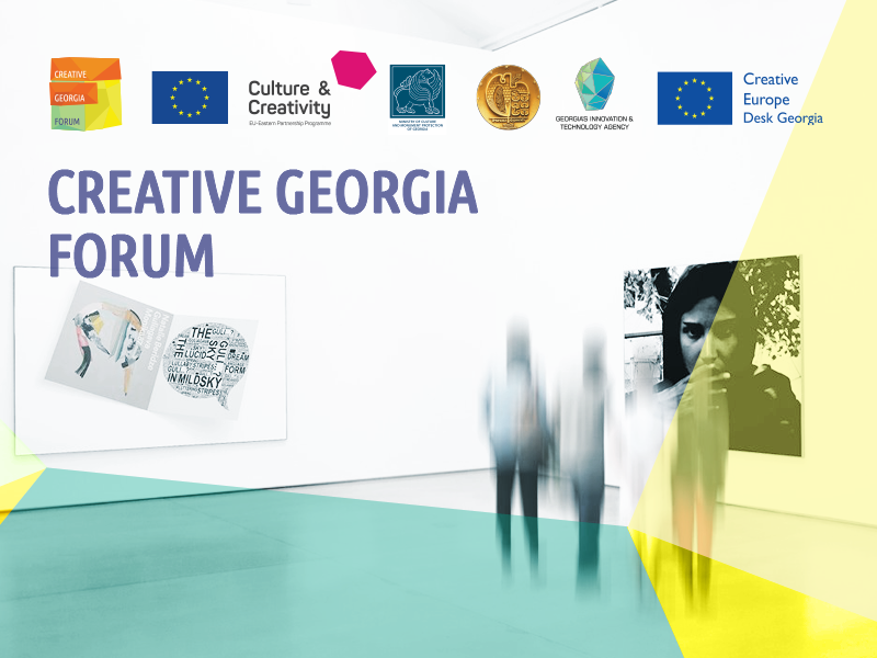 Follow, share and discuss the Creative Georgia Forum with the online translation now