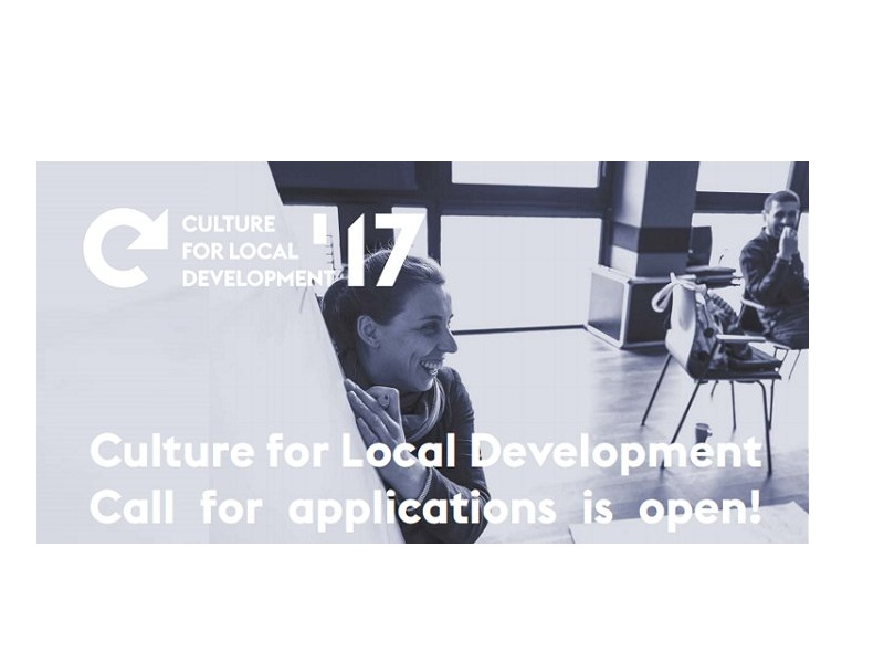 Culture for Local Development: Call for applications is open!