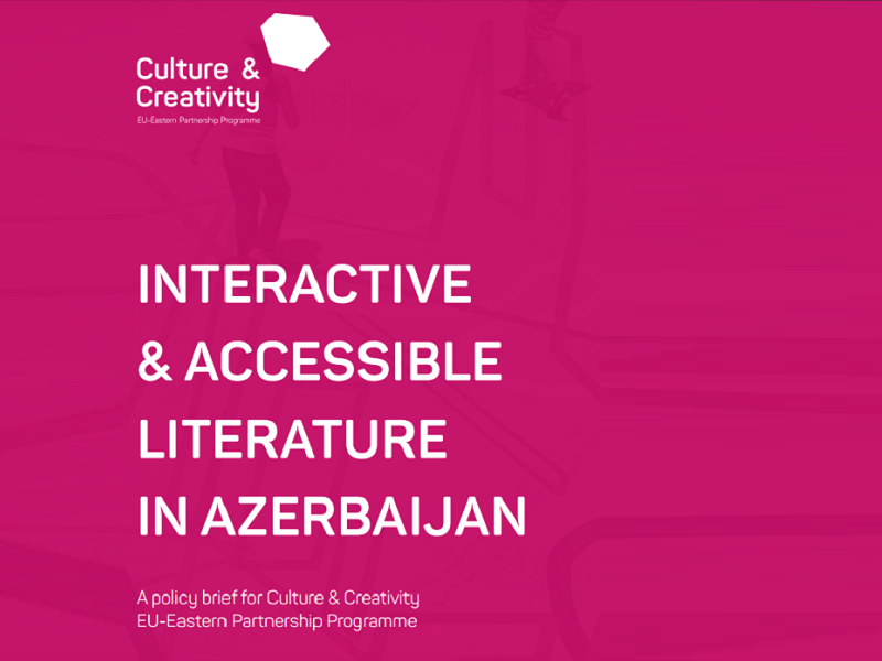 Interactive And Accessible Literature In Azerbaijan
