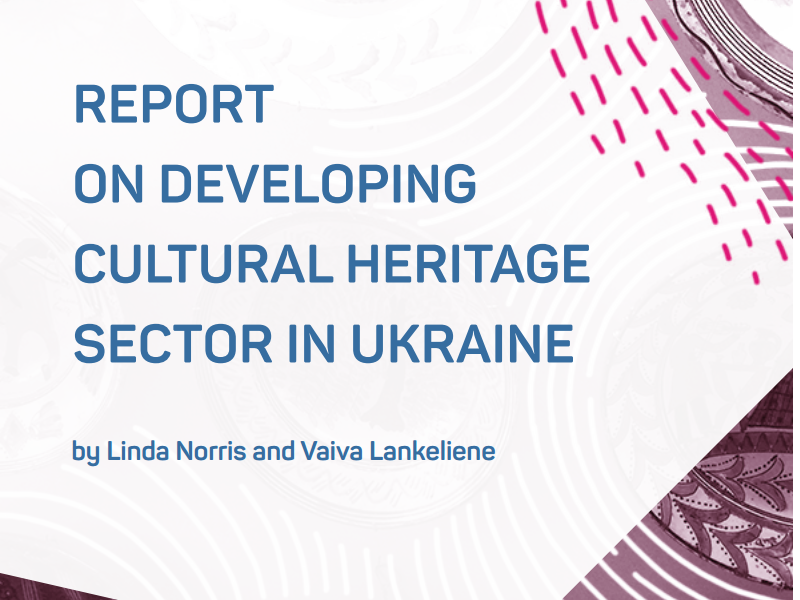 Increasing the Potential of Cultural Heritage in Ukraine: Expert Recommendations