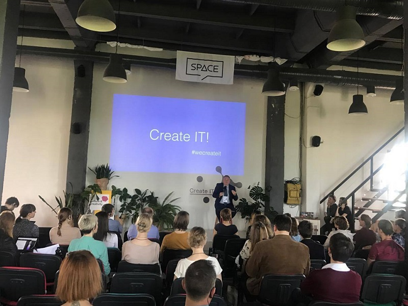 Create IT! Forum in Minsk: Future Depends on Combining Creative Potential and IT Technologies