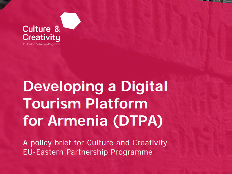 Developing a Digital Tourism Platform for Armenia (DTPA)