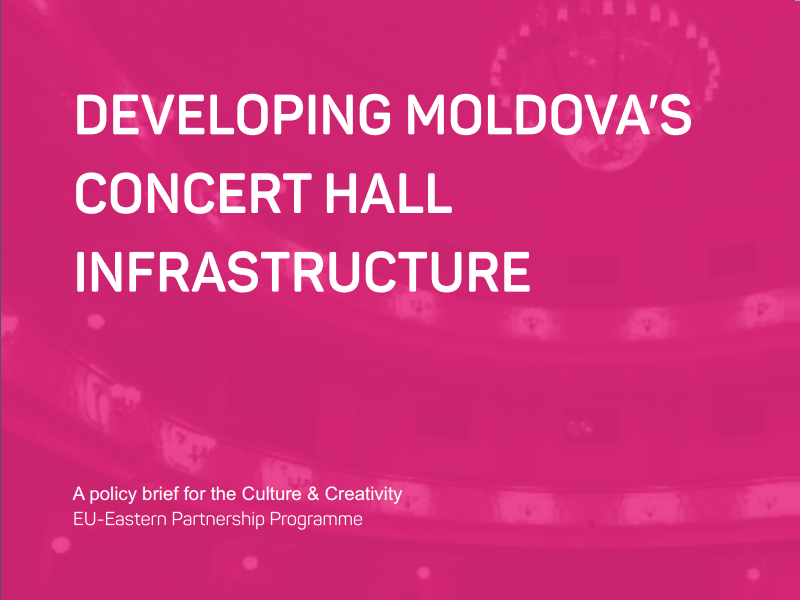 Developing Moldova's Concert Hall Infrastructure