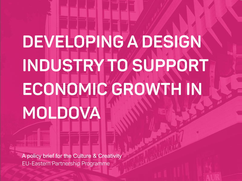 Developing a Design Industry to Support Economic Growth in Moldova