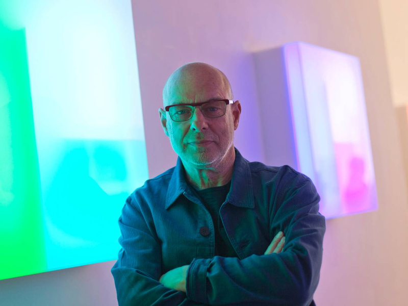 How Brian Eno is creating installations that use video game technology