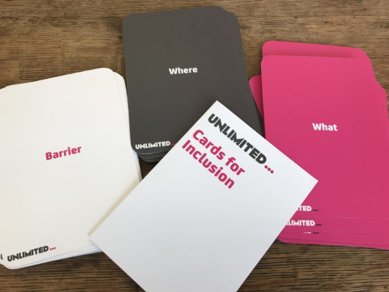 Cards for Inclusion – a new way to play access