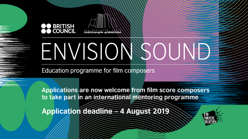 Envision Sound 2019-2020 - a hot opportunity for film score composers